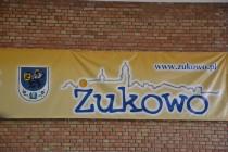 Zuzanna Czaja/MRKS Gdańsk/ i Kamil Niewiadomski /ATS Małe Trójmiasto Rumia/, zwycięzcami w kategorii junior młodszy, IX Festiwalu Tenisa Stołowego w Żukowie