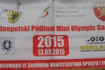 """Wyniki kwalifikacji """"Gniew 2015"""" do turnieju finałowego Mini Olympic Games"""