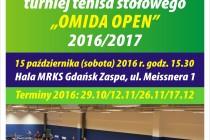"""Bogusław Dobrzelecki (""""+60""""), Zbigniew Kuziemkowski (""""+45"""") i Mariusz Wołowiecki (""""-45"""") na czele klasyfikacji po IV Turnieju """"OMIDA OPEN"""""""