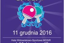 Otwarte Mistrzostwa Rumi w Tenisie Stołowym – 11 grudnia 2016 r.