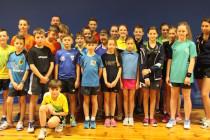 Zimowe zgrupowanie kadry wojewódzkiej młodych tenisistów stołowych