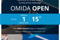 """XIII Turniej Tenisa Stołowego """"OMIDA OPEN"""" – 1  kwietnia 2017 r. godz. 15.30; Hala MRKS Gdańsk"""