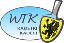 Paulina Godlewska /MTS Kwidzyn/ i Rafał Formela /MRKS Gdańsk/ zwycięzcami I WTK kadetów podczas X Festiwalu Tenisa Stołowego w Żukowie