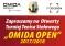 """""""OMIDA OPEN"""" Turniej dla Amatorów i Weteranów – I Turniej – 23 września 2017 r. Zapisy do 15.40 , początek gier 16.00"""