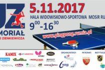 III Memoriał Jerzego Zienkiewicza – 5 listopada 2017 r. Hala Widowiskowo-Sportowa MOSiR RUMIA