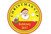 """""""Christmas Cup"""" turniej tenisa stołowego – 29 grudnia 2019 r. godz. 9.30 – Subkowy"""