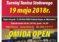 """XVII Turniej Tenisa Stołowego dla Amatorów i Weteranów """"OMIDA OPEN"""" 19 maja (sobota) 15.40. Hala MRKS Gdańsk"""