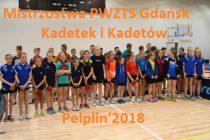 Ewa Krakowiak /GKTS Gdańsk/ i Patryk Kwiatkowski /UKS Olimpia Gniew/ – mistrzami województwa pomorskiego kadetów