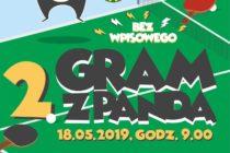 GRAJ z PANDĄ – turniej tenisa stołowego w Sierakowicach – 18 maja 2019 r.