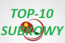 TOP-10 SUBKOWY'2019 – 22 czerwca 2019 r. godz. 9.30 Subkowy