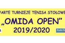 """II Turniej """"OMIDA OPEN"""" – 28 września 2019 r. godz. 15.45 – sobota (zawody dla amatorów i weteranów) hala MRKS Gdańsk"""