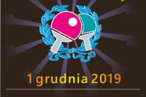 XXXVI Otwarte Mistrzostwa Rumi w Tenisie Stołowym – 1 grudnia 2019 r. Hala MOSiR Rumia – 8.15
