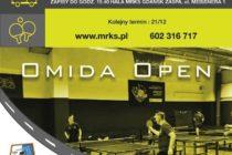 """VII Turniej """"OMIDA OPEN"""" dla amatorów i weteranów – 7 grudnia 2019 r. godz. 15.45 – Hala MRKS Gdańsk ul. Meissnera 1"""