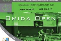 """XI Turniej """"OMIDA OPEN"""" dla amatorów i weteranów – 1 lutego 2020 r. – 15.40 – Hala MRKS Gdańsk"""