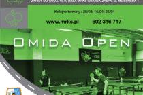 """XIII """"OMIDA OPEN"""" – turniej dla amatorów i weteranów – 14 marca br. godz.15.45 Hala MRKS Gdańsk, ul. Meissnera 1"""