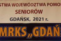Wiktoria Wróbel /MRKS Gdańsk/ i Adrian Więcek /UKS Tenisista Rudno/ mistrzami województwa pomorskiego seniorów w grze pojedynczej